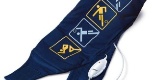 Wärmekissen Rücken - Bosch Heizkissen relaxxtherm dunkelblau