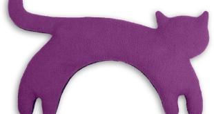 Körnerkissen Füllung - Katze Minina stehend - Nacken Wärmekissen