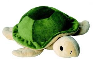 Körnerkissen Füllung - Warmies Beddy Bears Schildkröte Lavendelduft - grün-beige