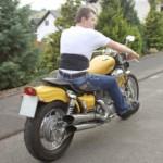 Heizkissen Rücken - Rückenwärmer zum Motorrad fahren