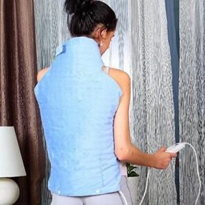 Heizkissen Rücken - elektrische Wärmeweste mit Klettverschluss