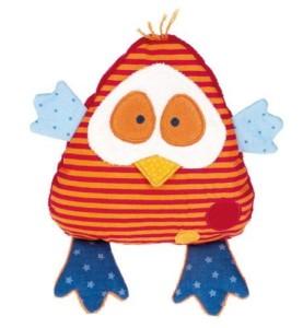Wärmekissen Baby - süßer Kirschkernkissen Vogel von Sigikit